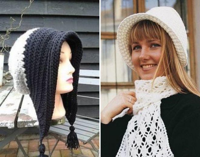 шляпка капор