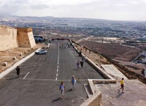 Вид на город с Касбы