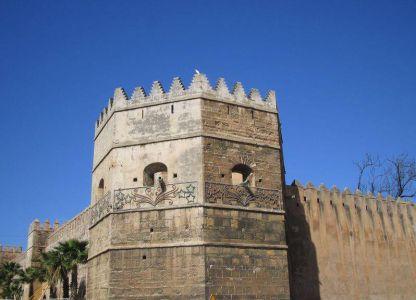 Касба Удайя - главная достопримечательность Рабата