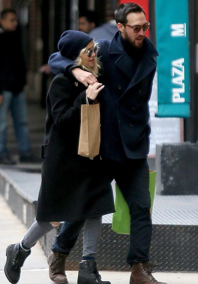 Кейт Хадсон и Дэнни Фудзикава в Нью-Йорке