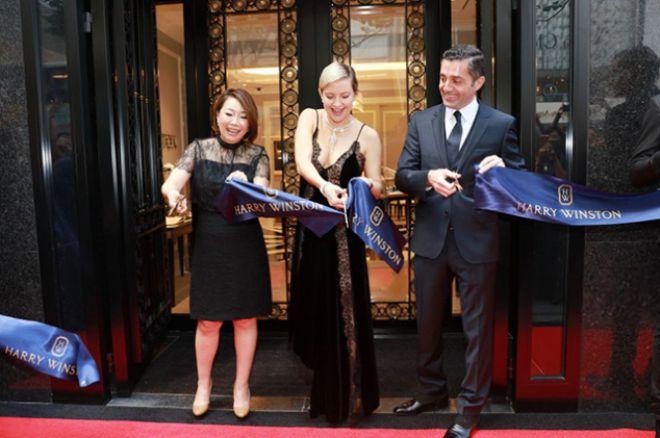 Кейт на открытии ювелирного бутика