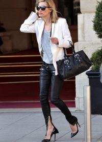 уличен стил Кейт Мос 1
