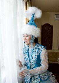национална одјећа у Казахији 8