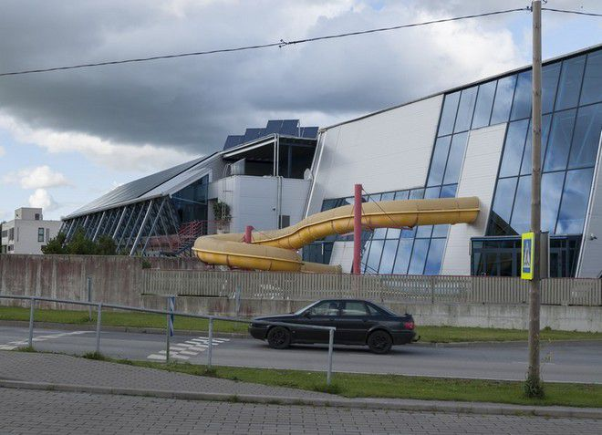 Небольшой эстонский городок Кейла