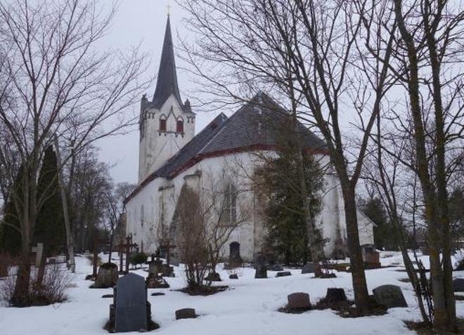 Церковь Святого Михаила в городе Кейла