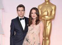 Беременная Кира Найтли с мужем на церемонии Оскар 2015