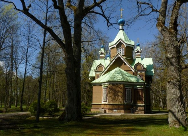 Деревянная церковь в Кемери