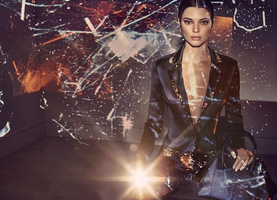 Кендалл Дженнер в рекламной кампании бренда LaPerla
