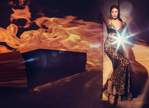 Лю Вэнь представила весенне-летнюю коллекцию бренда LaPerla