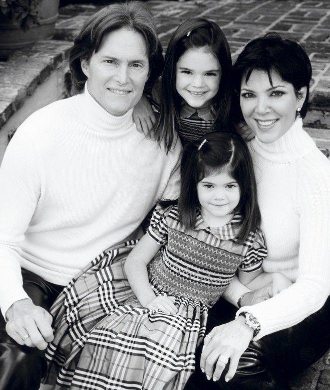 Кайли и Кендалл с родителями