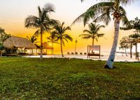 На территории отеля Veranda Natural, Кеп Камбоджа