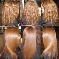 Wzmocnienie włosów keratyną