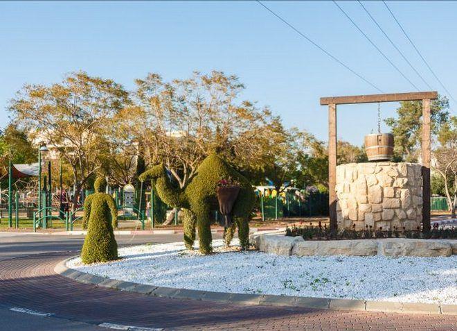 Кфар-Сава - зеленый ухоженный город