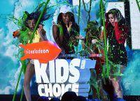 Группа Fifth Harmony тоже облита слаймом