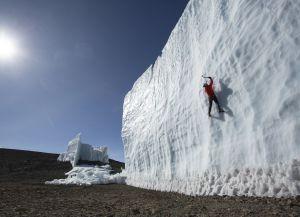 Ледники на вершине