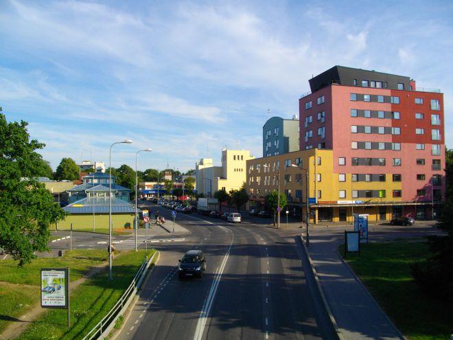 Килинги-Нымме - центр города