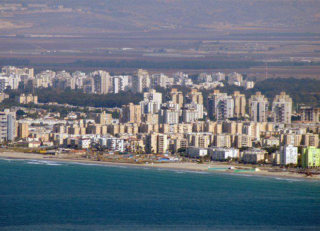 Кирьят-Ям - город у моря
