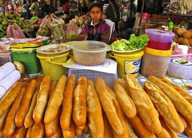Лаосцы любят хлеб