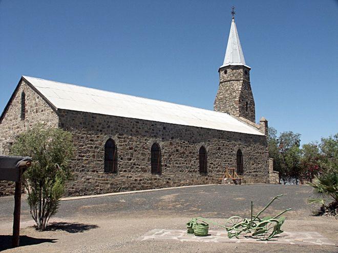 Церковь в Китмансхупе
