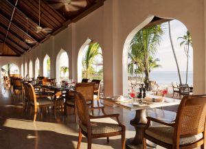 Ресторан отеля The Residence Zanzibar