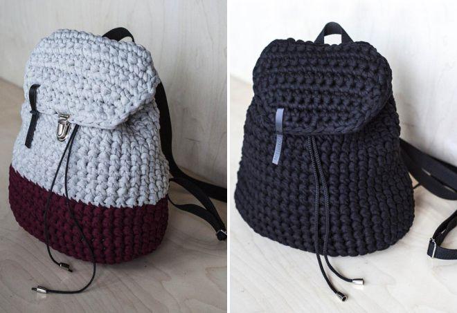 вязаные сумки 2018