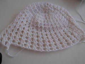 szydełkowana czapka dla dziewczynki 18