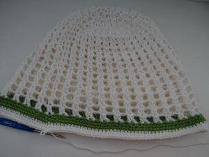 szydełkowa czapka dla dziewczynki 26