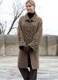 Płaszcz z dzianiny 6