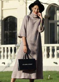dzianinowa sukienka 2016 9