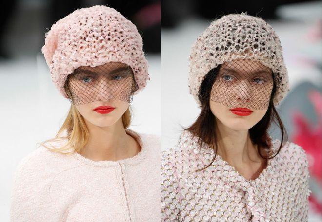 czapki z dzianiny 2016-2017 - trendy 23-24