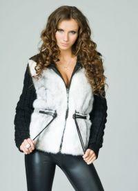 Pletena jakna s krznom 2