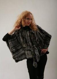 Pletena jakna s krznom 4