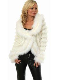 Pletena jakna s krznom 7
