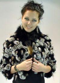 Pletena jakna s krznom 8