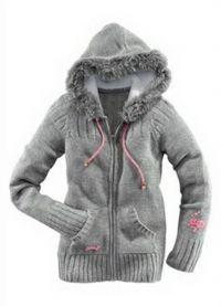 Pleteni kapuljačni jakni 3