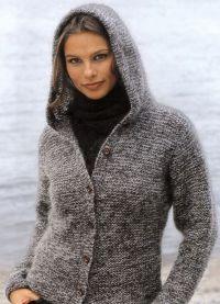 Pleteni kapuljačni jakni 6
