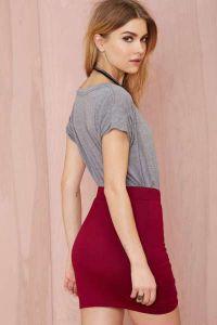 knitwear skirt9