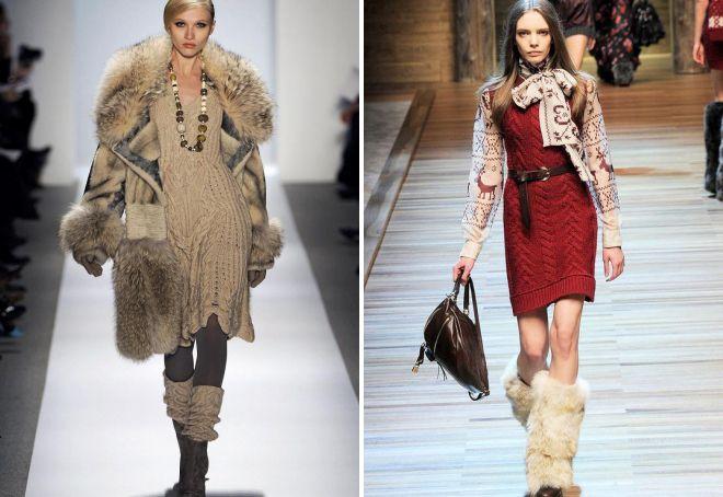 модные вязаные вещи 2018