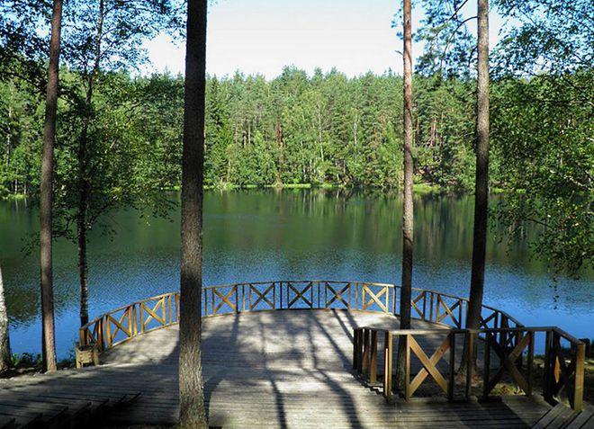 Озеро Чорток, с которым связаны мистические истории и легенды