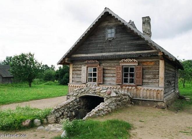 Этнографический музей «Сельский двор в Андрупене»