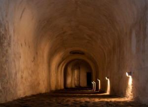 Катакомбы замка Кронборг