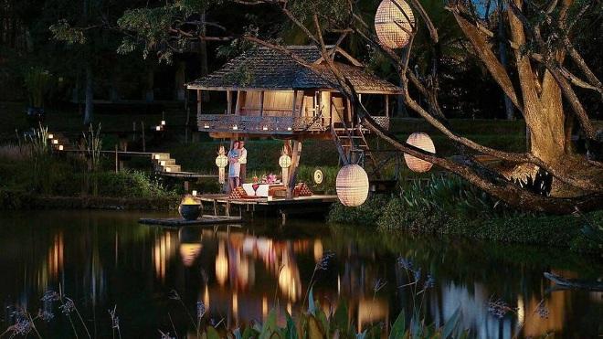 Barn Thai - один из самых атмофсерных ресторанов города