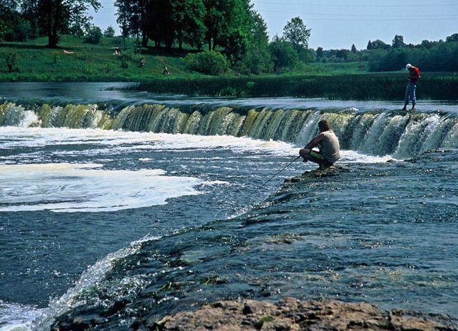 Водопад Вентас румба