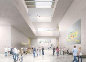 Новое крыло музея