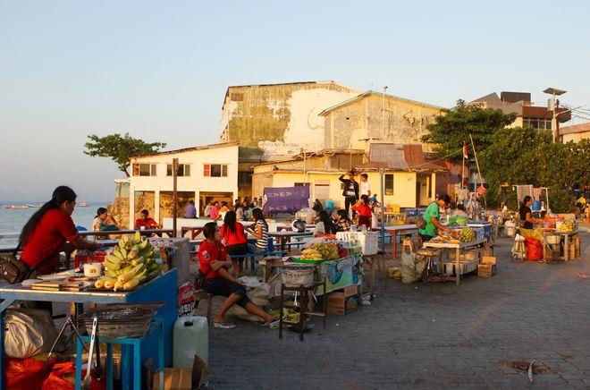 Рынок в Купанге