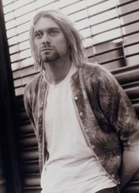 Крт Кобейн солист группы Nirvana