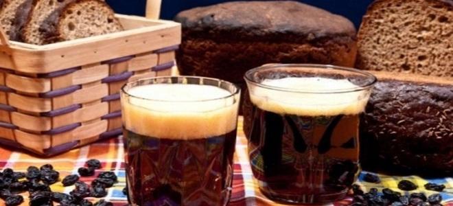 przepis na kwas z czarnego chleba