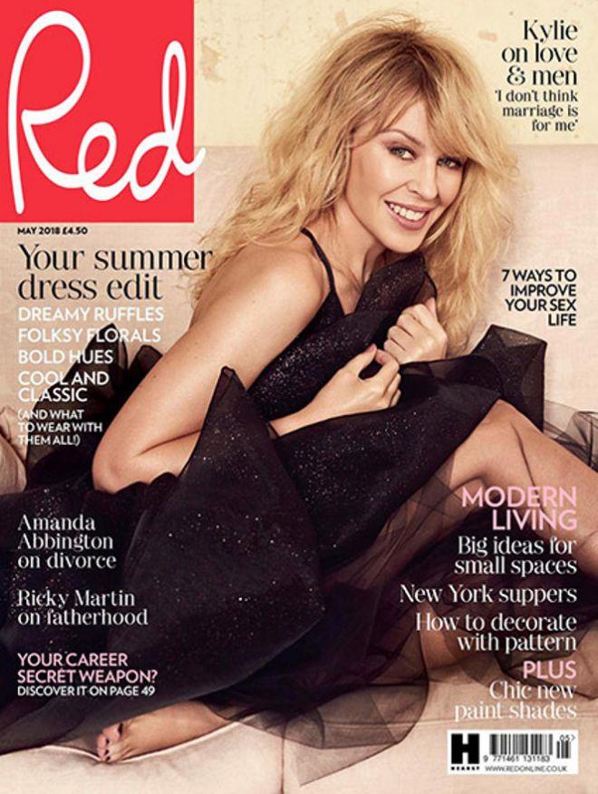 Кайли Миноуг для журнала Red Magazine