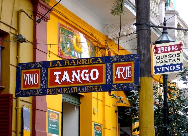 Местечко для танго-шоу