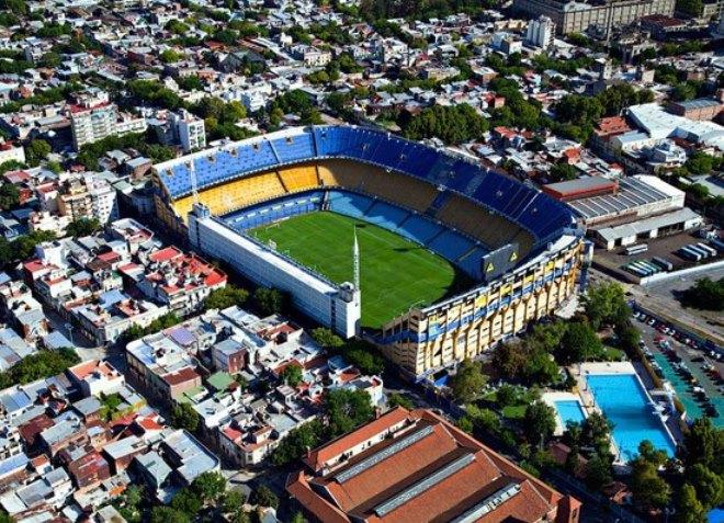 Стадион Бока-Хуниорс